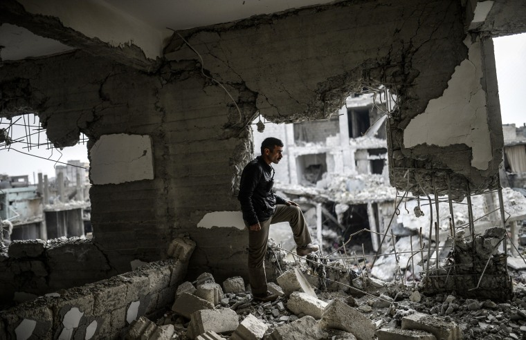 Image: TOPSHOTS-SYRIA-TURKEY-IRAQ-US-CONFLICT