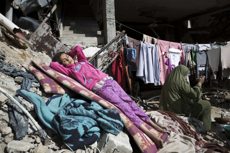 Image: PALESTINIAN-ISRAEL-CONFLICT-GAZA