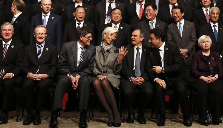 Image: G20 Summit of Finance Ministers and Central Bank Govenors in Istanbul