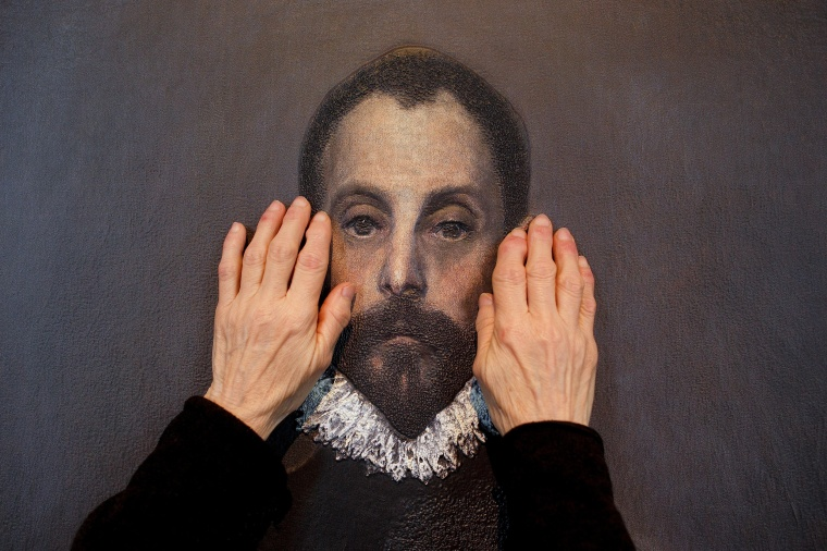 Image: Paintings For Vision-Impaired People At The Prado Museum