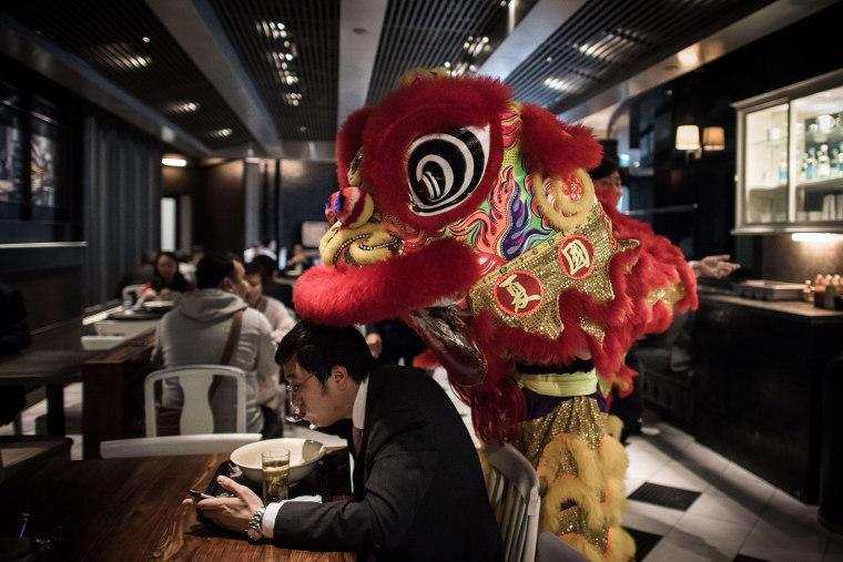 Image: TOPSHOTS-HONG KONG-LUNAR-NEW YEAR