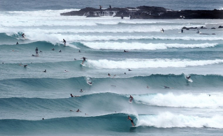 Image: Cyclone Marcia hits Queensland