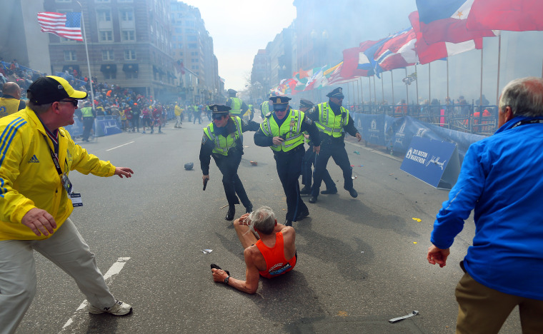 Image: Explosions At 117th Boston Marathon