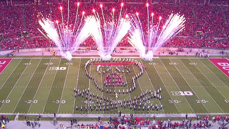 Ohio State marching band uses app to pull off amazing formations