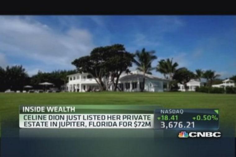 For Sale: Inside Celine Dion's Florida mansion.