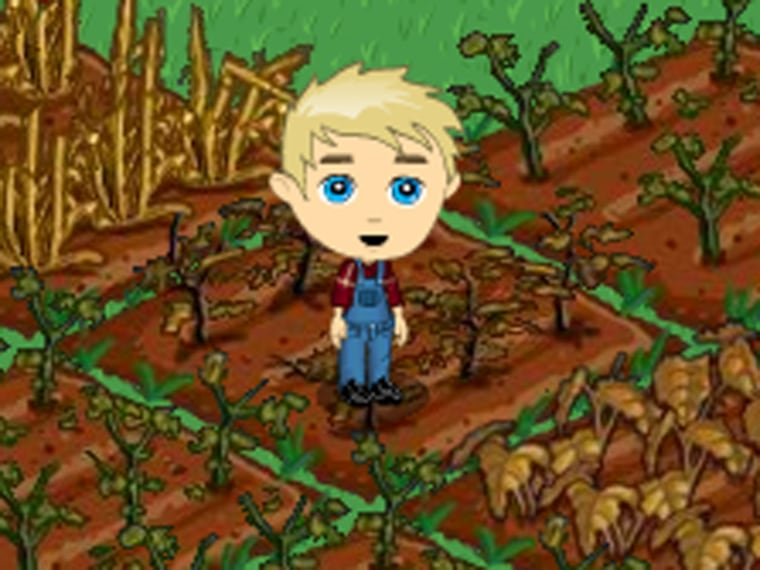 Thislittle farmer may lose his neighbors as social network games such as FarmVille lose players.