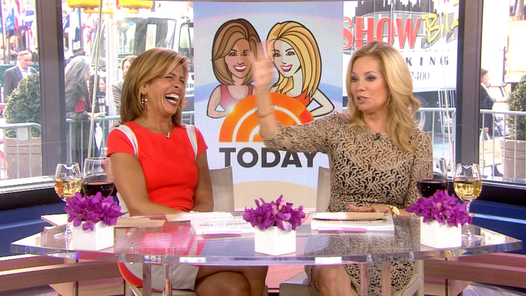 Kathie Lee and Hoda talk about the hot topics of the day.