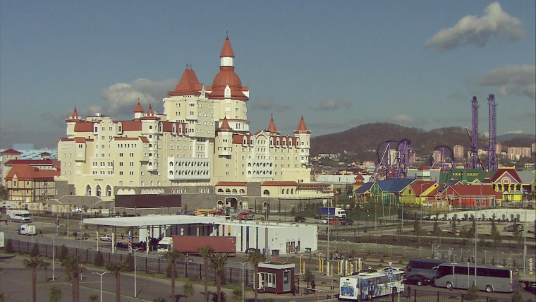 The amusement park, dubbed Putin World.