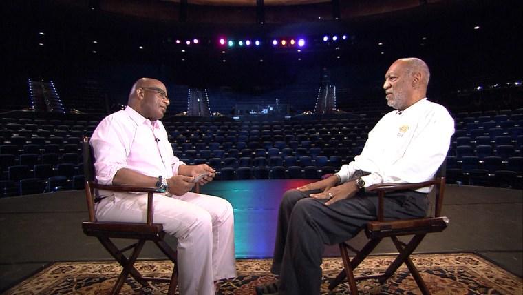 Al Roker and Bill Cosby.