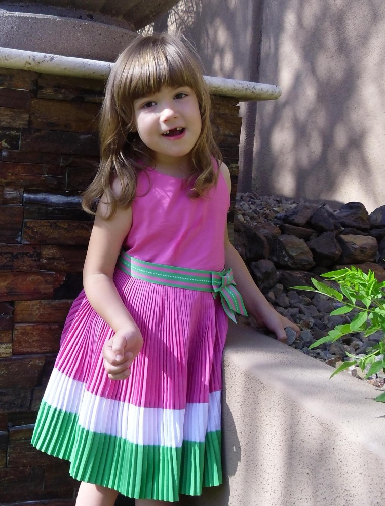 Katie Murphy received a cord blood transplant in January 2010 to treat her hypotonia.