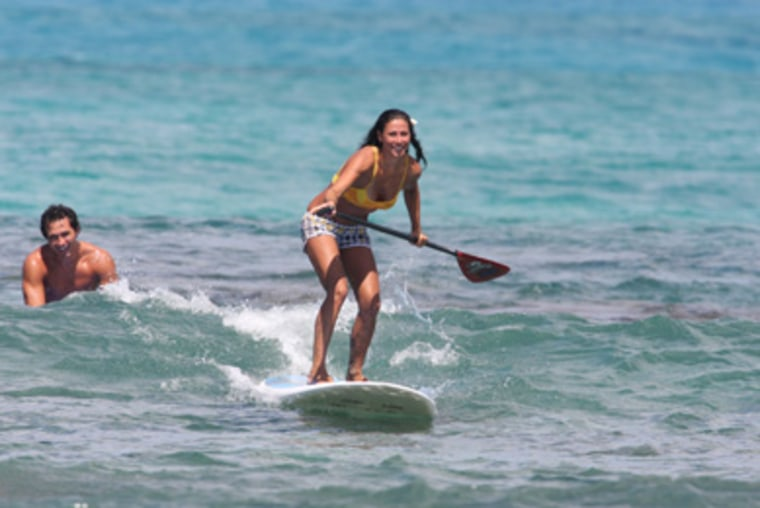 Interested in surfing but can't commit the time? Stand-up paddleboarding is surfing made easy.