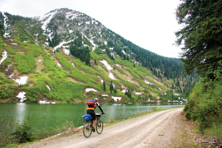 For 2,490 miles of pavement, gravel, single-track and old railroad beds, this trail follows the spine of the continent, crossing the Continental Divide more than 50 times and challenging riders with more than 200,000 feet of elevation gains.