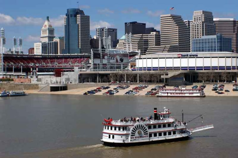 Image: Ohio River, BB Riverboats, Newport, Kentucky
