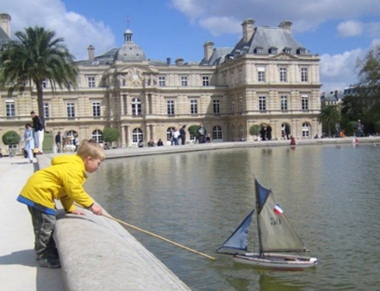 The boat pond in the Jardin du Luxembourg has always been a hot spot for young boys.