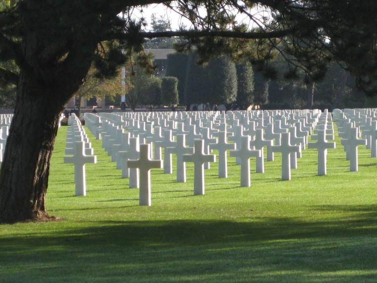 American Cemetery Omaha Beach  October 2008