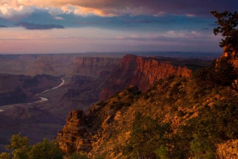 Desert View South Rim - Grand Canyon National Park, CA