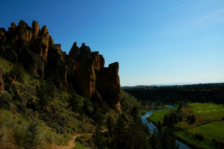 The afternoon glory of Smith Rock.