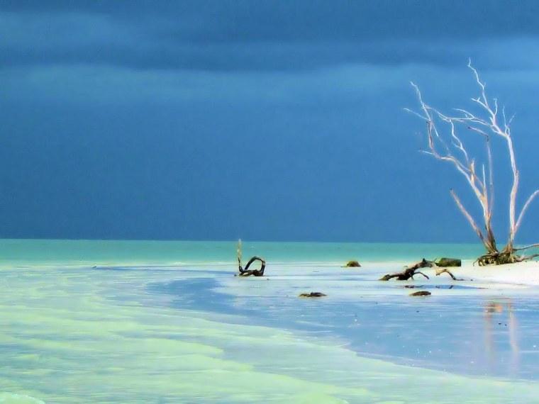 Sanibel Island Storm