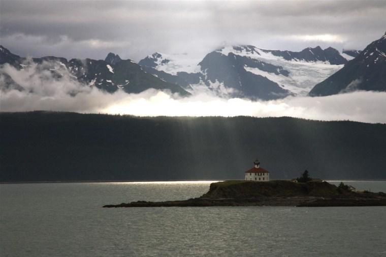 Cruising through Prince William Sound, Alaska in August