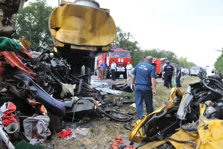 RUSSIA-ACCIDENT-ROAD