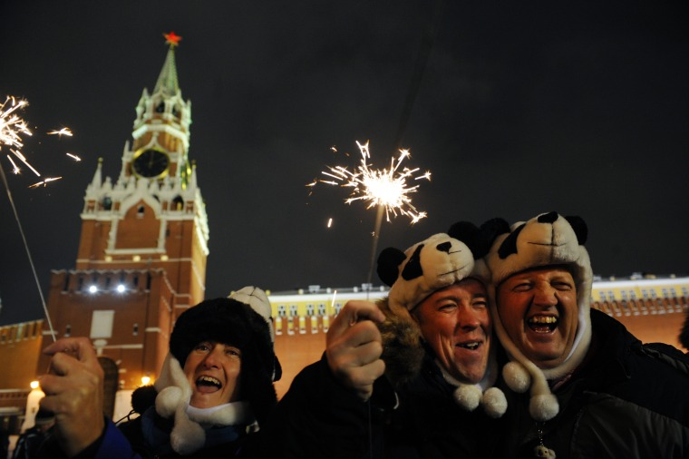 RUSSIA-NEW YEAR
