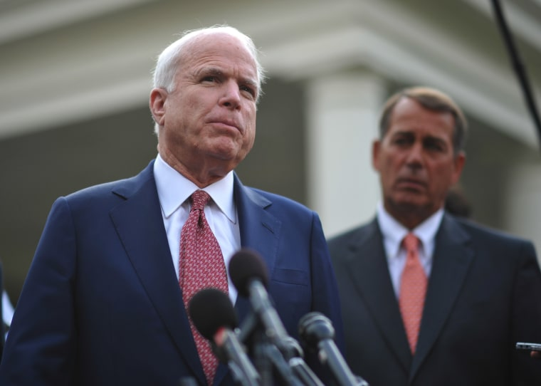 Sen. McCain'scriticism comes as President Obama weighs his options for future action in Afghanistan.