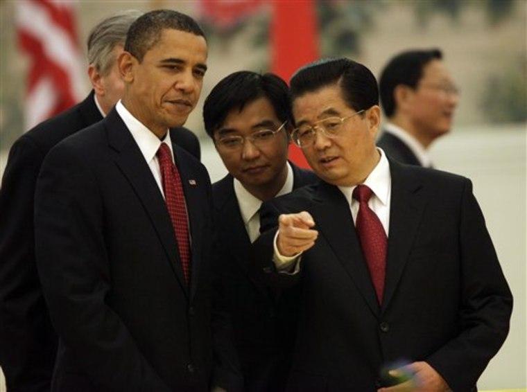 China US Obama