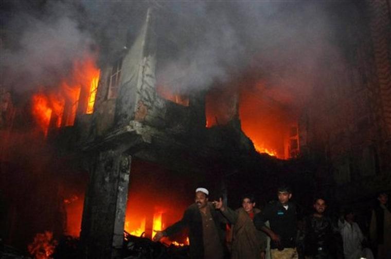 APTOPIX Pakistan Violence