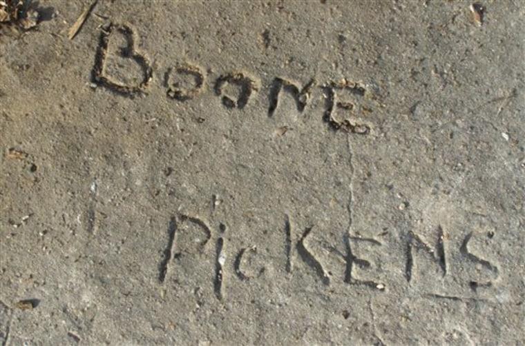 Pickens Slab Signature