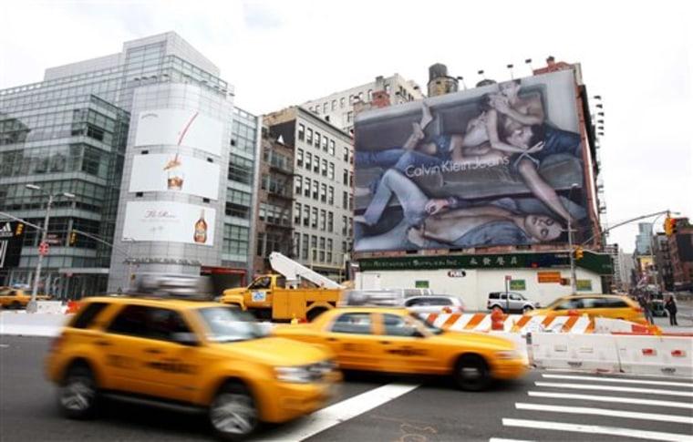 Calvin Klein Racy Billboard