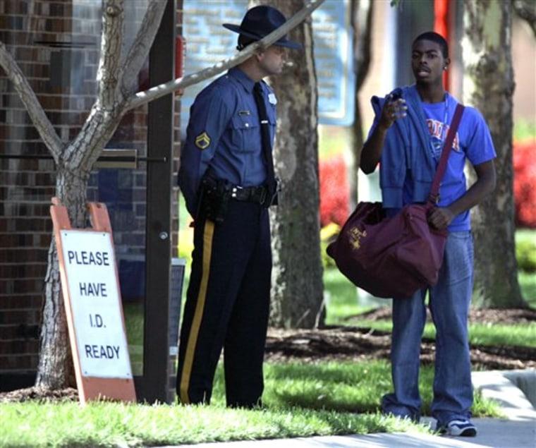 APTOPIX Delaware State Shooting