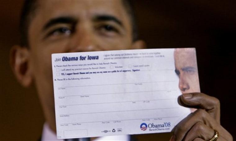 Obama 2008 Caucus Countdown