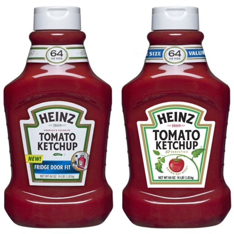 Heinz Ketchup Labels