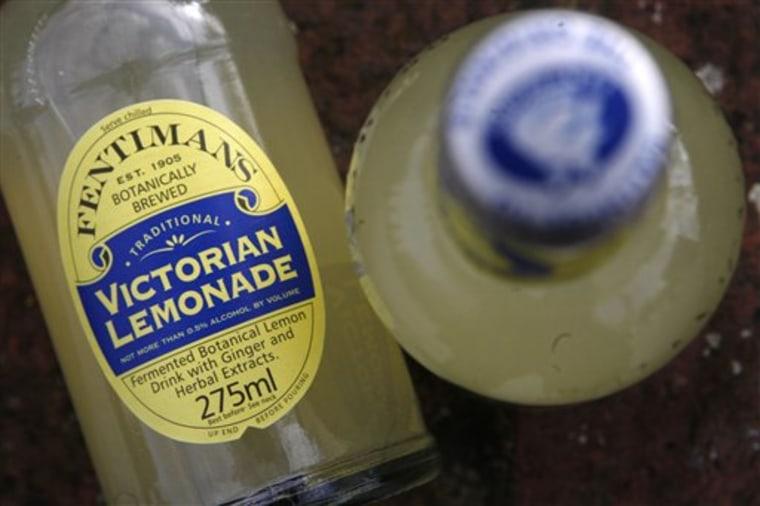 Britain Boozy Lemonade