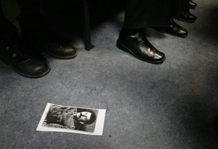APTOPIX Russia Stalin's Grandson Lawsuit