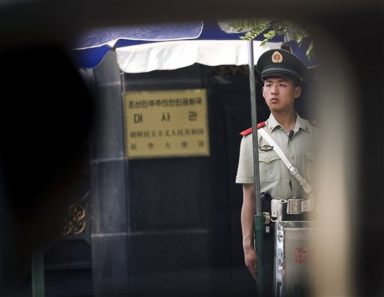 China North Korea Nuclear Reax