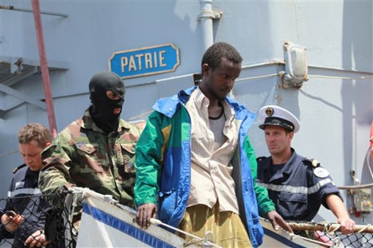 APTOPIX Kenya Piracy