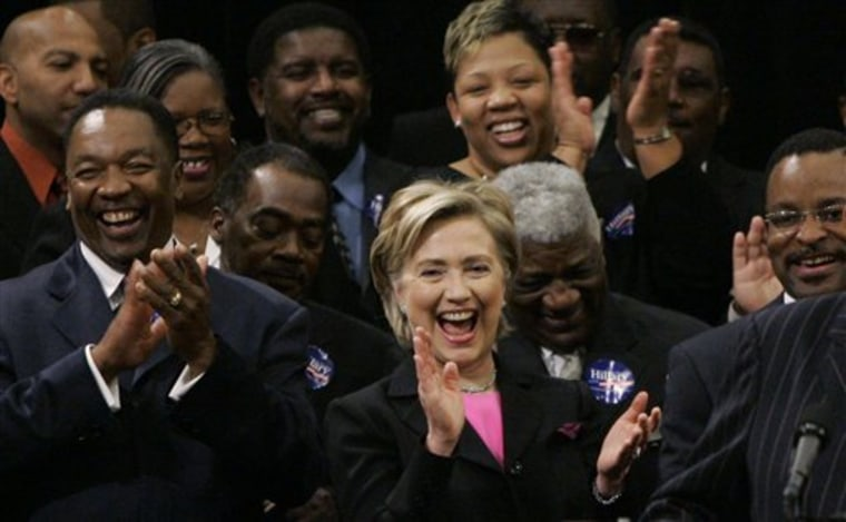 Clinton 2008 Ministers
