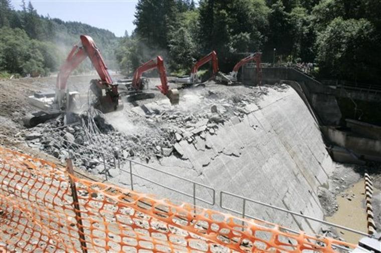 Dam Demolition
