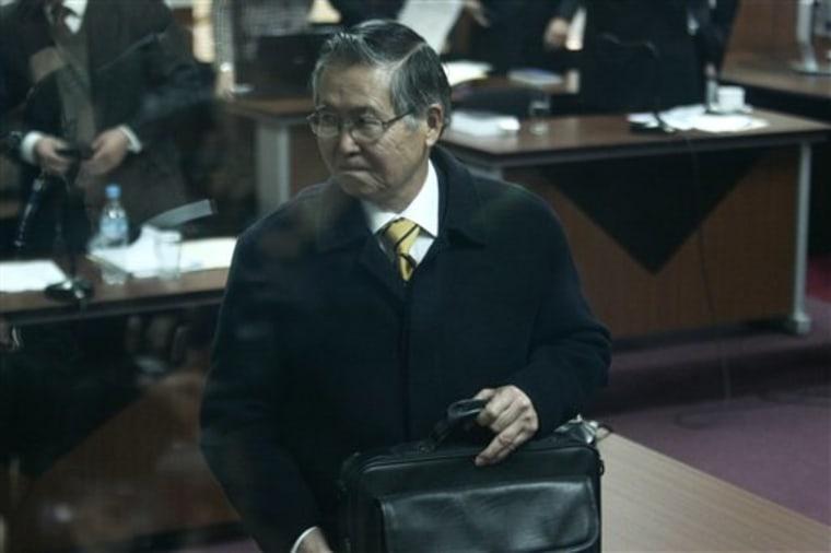 Peru Fujimori Trial