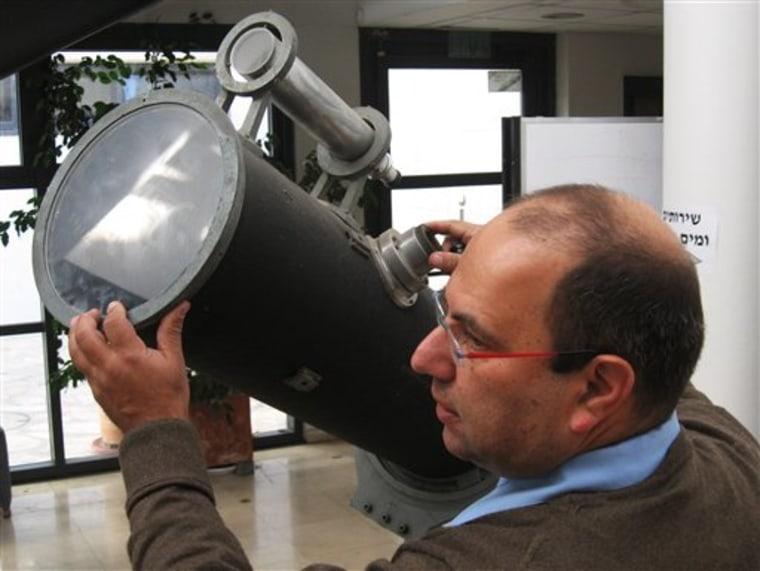 MIDEAST ISRAEL EINSTEINS TELESCOPE