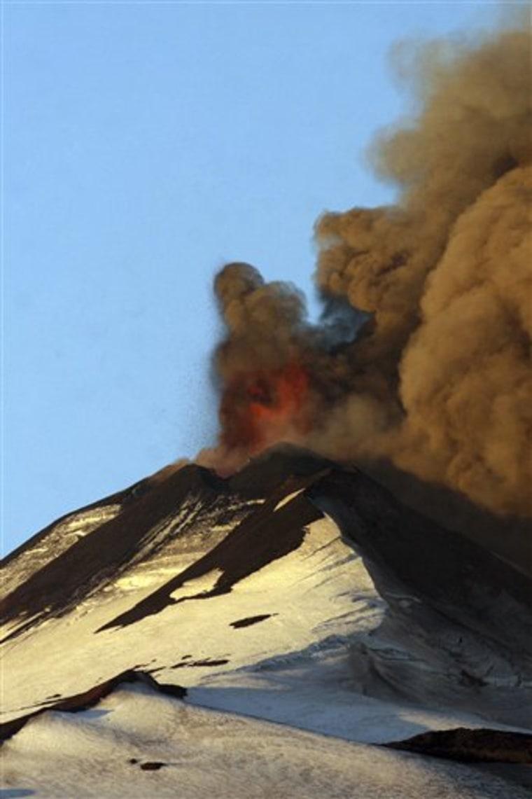 APTOPIX Chile Volcano