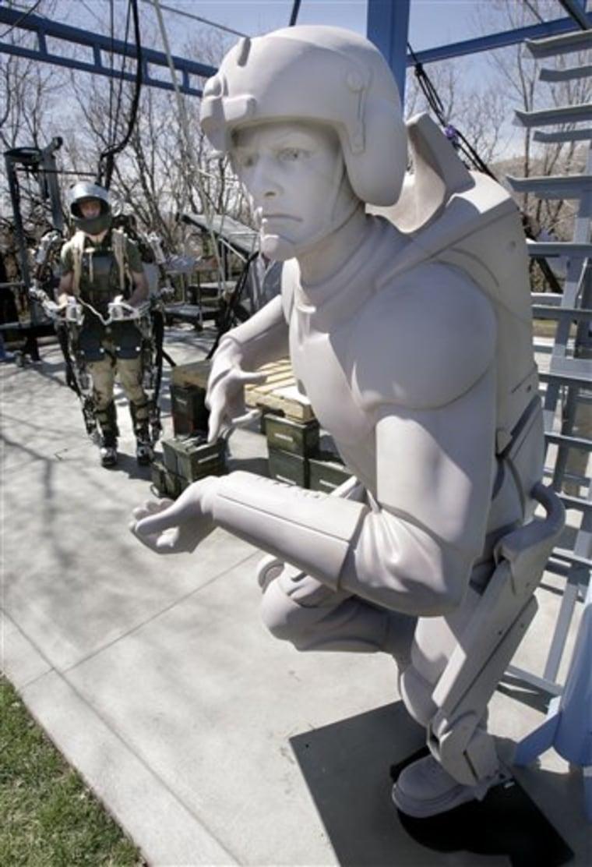 Robotic Soldier Suit