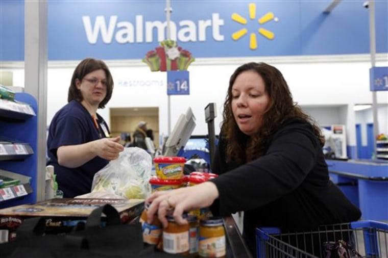 Earns Wal Mart