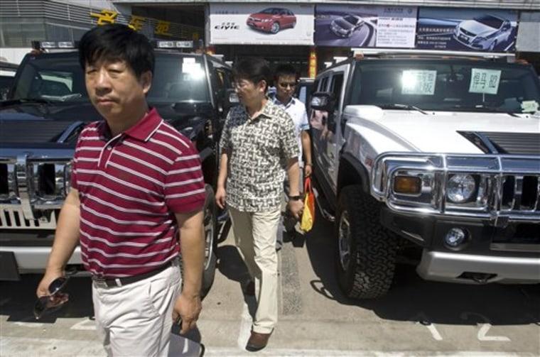 China GM Hummer