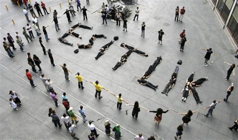 APTOPIX Turkey China Protest