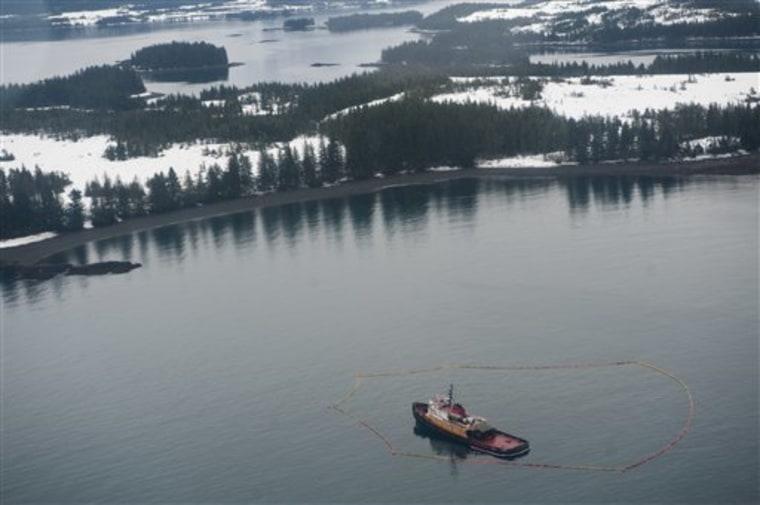 Tug Grounded Exxon Valdez