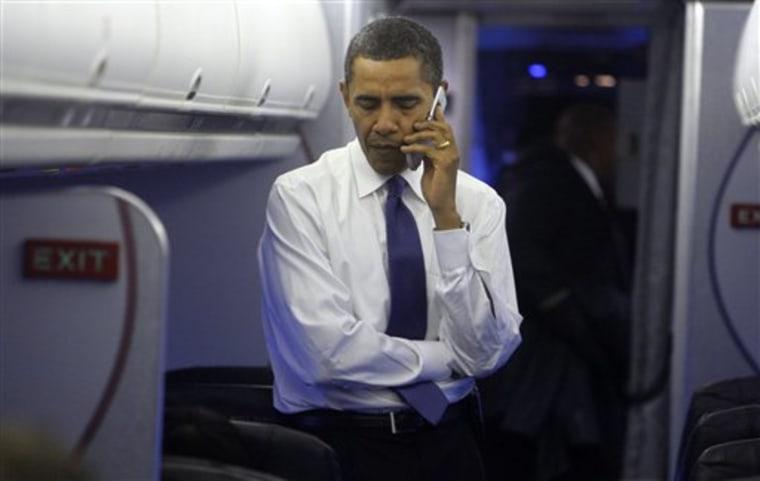 Obama Transition Bush