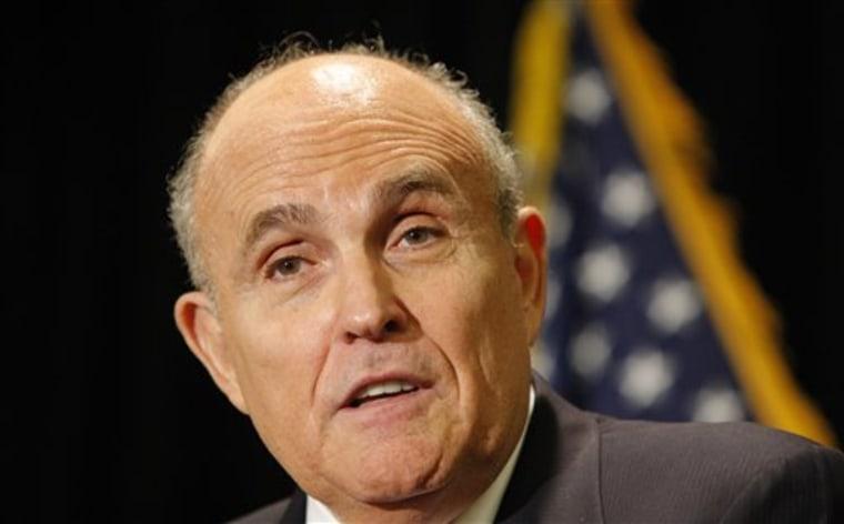 Terrorism Giuliani