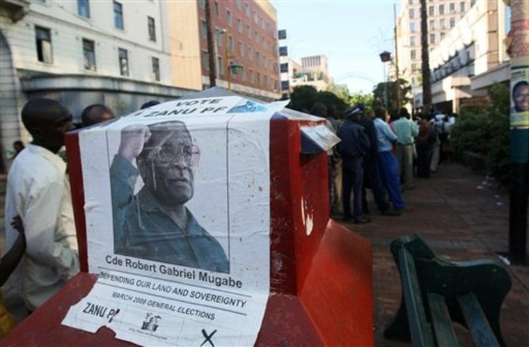 ZIMBABWE ELECTIONS